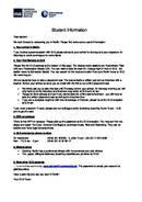 GLS - Informations sur les étudiants de l