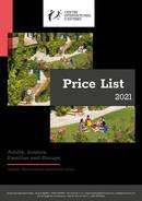 Lista de precios y fechas 2021 de Center International