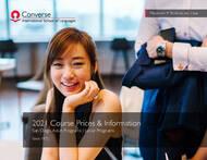Liste de prix 2021 de Converse International School of Languages