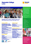 Летняя информационный бюллетень Bayswater London