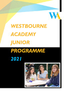 Programa Junior 2021