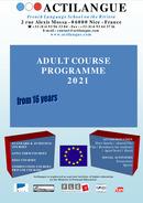 Aikuisten kurssiohjelma 2021