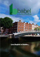 Babel englannin akatemian esite 2021