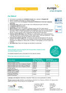 Цены Europa School of English 2021