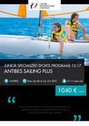 Programa Junior Antibes - Sailing Plus