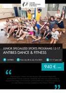 Programa Junior Antibes - Baile y Fitness