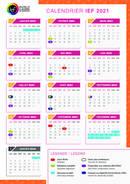 IEF-kalenteri 2021
