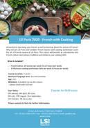 LSI Paris - Język francuski z programem gotowania