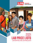 LAB Vancouver prislista 2021
