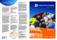 Castle School of English Broschyr (PDF)