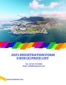 International House Cape Town Pricelist 2021