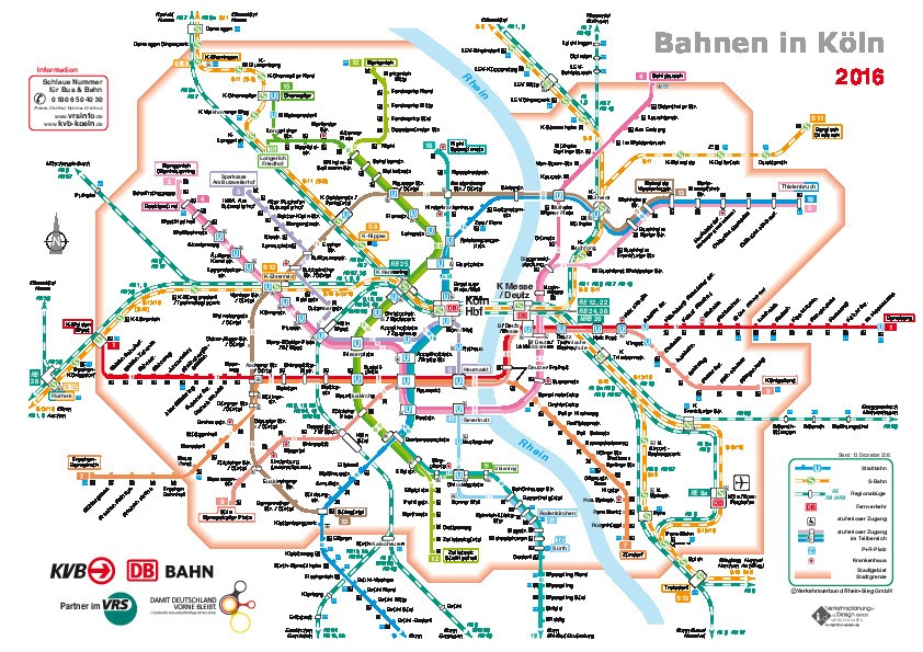 public transport map thumbnail of Cologne