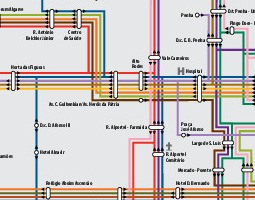 Faro Public Transport Map