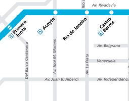 Buenos Aires Public Transport Map