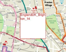 Brighton Public Transport Map