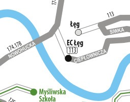 Cracow Public Transport Map