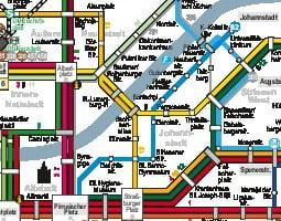 Plànol del transport públic - Dresden