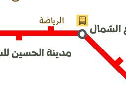 Amman Mappa dei trasporti pubblici