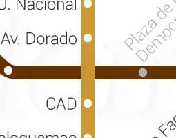Μπογκοτά Χάρτης Μέσων Μαζικής Μεταφοράς