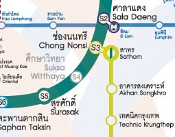 Bangkok Public Transport Map