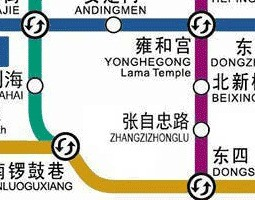 Beijing Public Transport Map