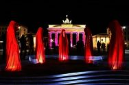 Brandenburger 토르에서 새해 이브 파티