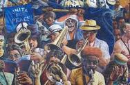Jazzový festival v Cheltenhame