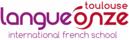 Langue Onze Toulouse Логотип