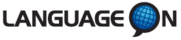 Language On logo