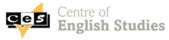 Centre of English Studies (CES) logotyp