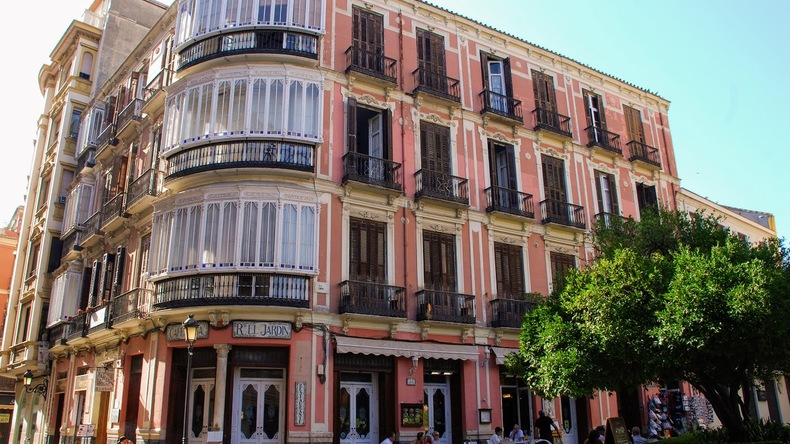 Historic building in Malaga