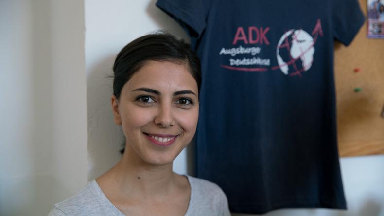 Augsburger Deutschkurse student