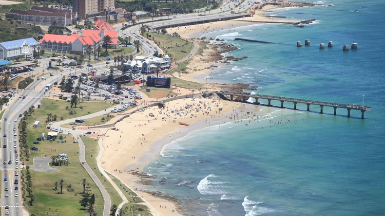 Port Elizabeth beachfront