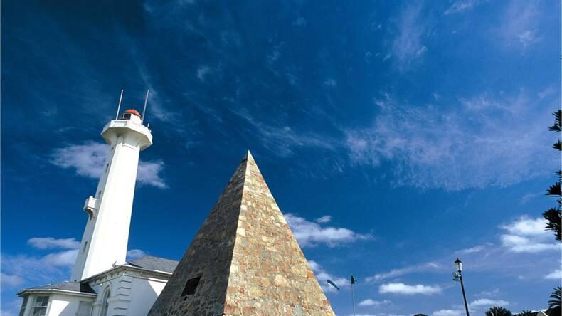 The Donkin Reserve in the heart of Port Elizabeth