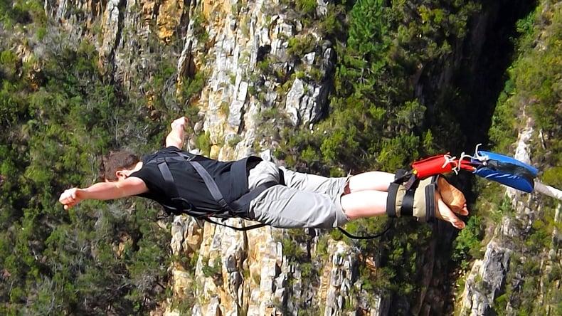 Bungy jump - Garden Route