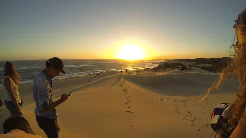Sardinia Bay sunset