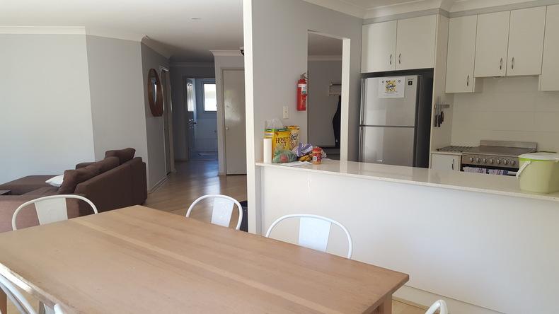 Student house kitchen