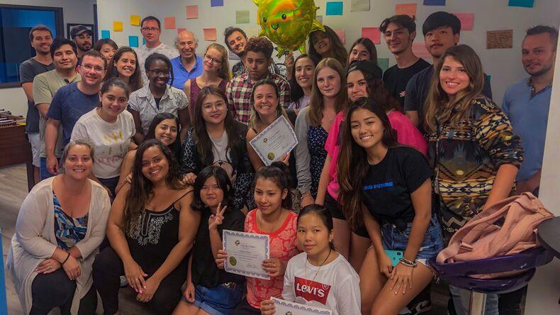 California Language Academy students