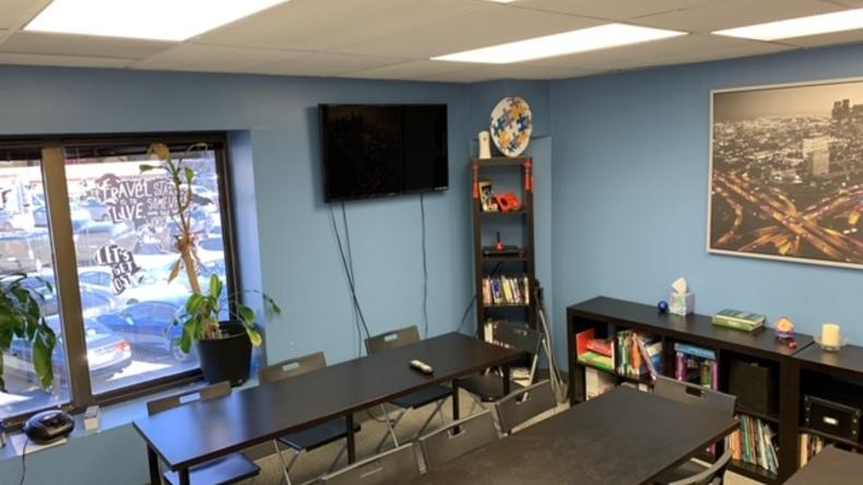 California Language Academy classroom