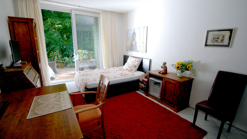 Student bedroom at host family
