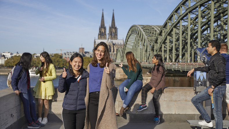 Students in Cologne