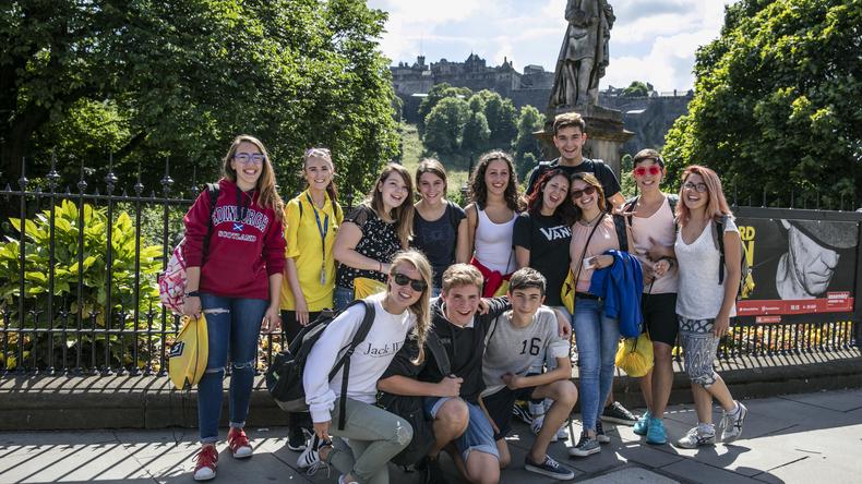 Explroing Edinburgh