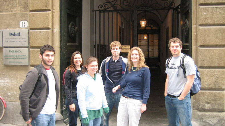 Centro Fiorenza - IH Florence students
