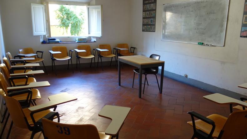 Centro Fiorenza - IH Florence classroom