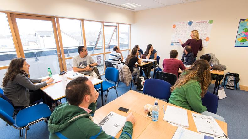 Cork English Academy class