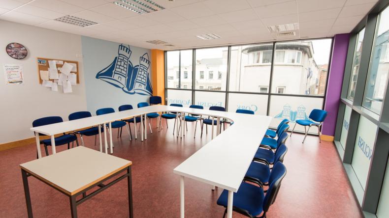 Cork English Academy classroom