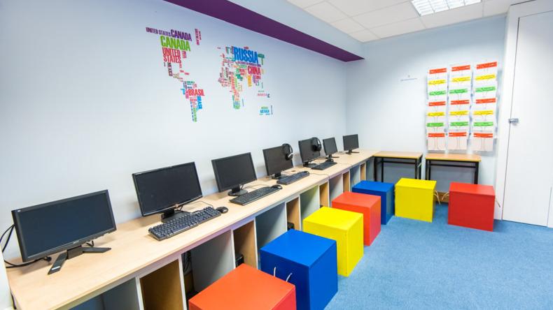 Cork English Academy computer facilities