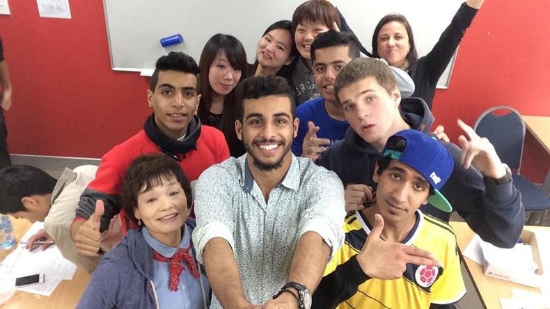 Dominion English Schools students