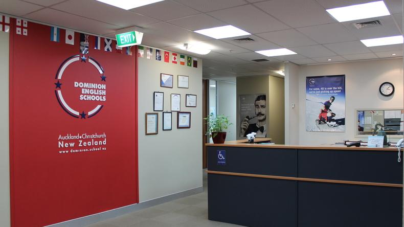 Dominion English Schools front desk
