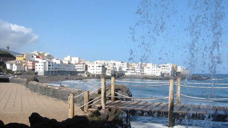 Ocean views in Tenerife